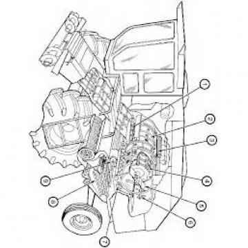 Gleaner R40 Reman Hydraulic Final Drive Motor