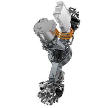 Case PW15V00018F3 Hydraulic Final Drive Motor